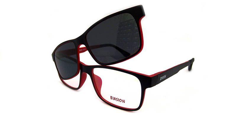 Monky-C1(Negro-Rojo)